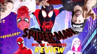 SPIDER-MAN: Into The Spider-Verse - SPOILER REVIEW!!!