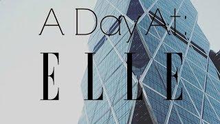 A Day At Elle Magazine| Murphy Beltowski