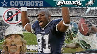 Terrell Owens' Return to Philly!  (Cowboys vs. Eagles, 2006) NFL Vault Highlights