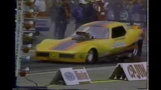 Drag Racing 1980 NHRA Cajun Nationals FUNNY CAR Eliminations Round 1