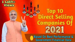 Top 10 Direct Selling Companies Of 2020 In India | Fast Growing MLM Companies