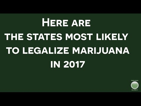 States Could Legalize Marijuana in 2017