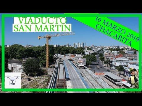 Avances del viaducto San Martín