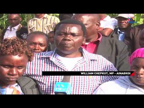 Maize farmers in Uasin Gishu county are yet to be paid by the Government