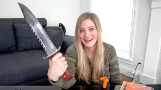 🔪 New Unboxing Knife - Video Youtube