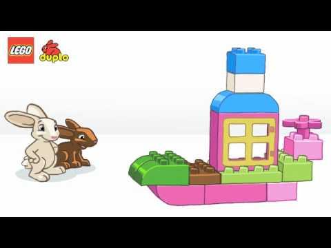 Vidéo LEGO Duplo 4623 : Boîte de briques fille