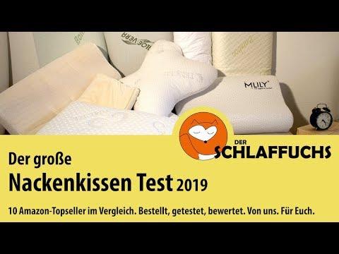 Nackenkissen Test | 10 Topseller von Amazon im Test (2019)