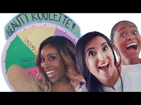 We Tried The Silly Hands Makeup Challenge Ft. Jackie Aina