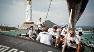 preview picture of video 'Leg 4: Sanya Leg Start Buddha Course Part 3 | Volvo Ocean Race 2011-12'