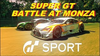 GT Sport What A Race - Super GT Battle At Monza