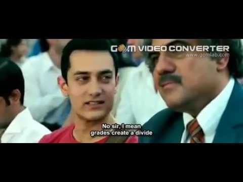 funny and emo scene in 3 idiots