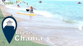 Crete   Platanias Beach