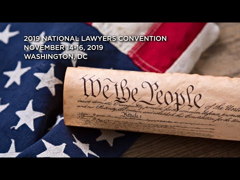 Showcase Panel II: Why, or Why Not, Be an Originalist? [2019 NLC]