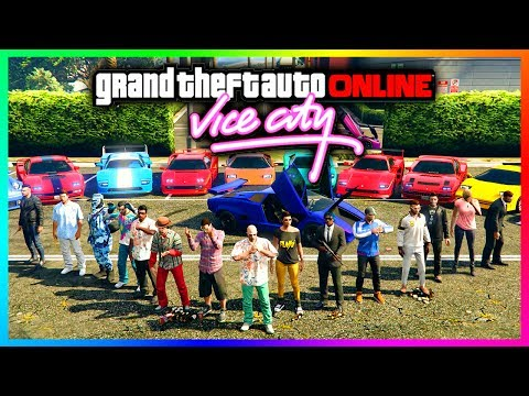 "GTA ONLINE ""RETURN TO VICE CITY"" SPECIAL - NEW DLC VEHICLES, RARE CARS & TOMMY VERCETTI EASTER EGGS!"