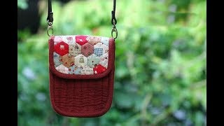 DIY Shine Sewing Tutorial Patchwork And Quilted Purse