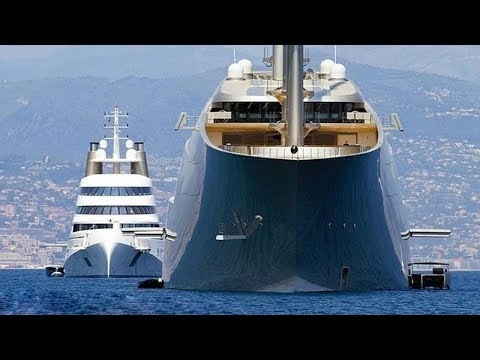 5 Largest Sailing Yachts