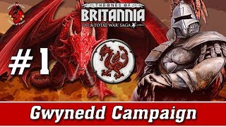 Gwined Campaign | Thrones of Britannia #1 - Rising Dragons!