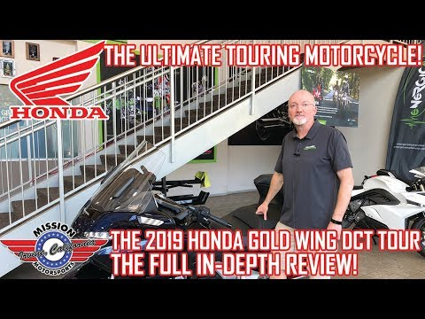 2019 Honda Gold Wing Tour Automatic DCT in Irvine, California - Video 1