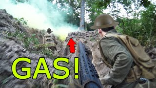 WW1 Airsoft with MUSTARD GAS! (Meuse-Argonne Offensive)