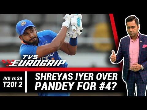 IYER over PANDEY for #4? | 'TVS Eurogrip' presents #AakashVani | Cricket Analysis