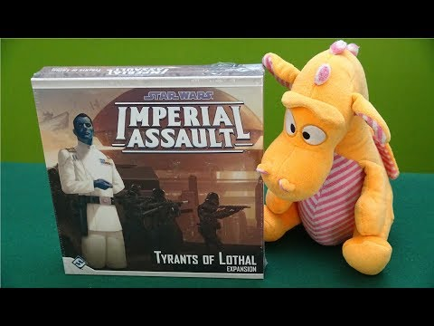 Star Wars: Imperial Assault – Tyrants of Lothal - Unboxing