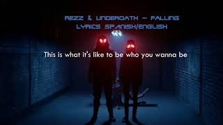 REZZ   Falling (ft.Underoath) Lyrics EspañolEnglish