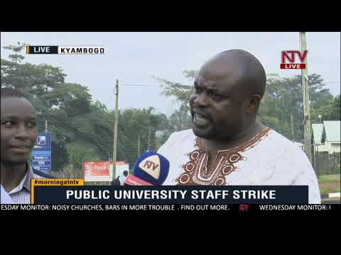 ON THE GROUND: Lecturers on why they want to strike yet again.