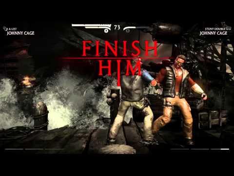 Mortal Kombat X Walkthrough - Erron Black - - Fatality and