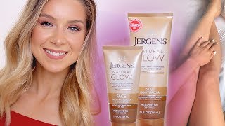 Jergens Natural Glow (Face & Body) Review + BEFORE & AFTER!