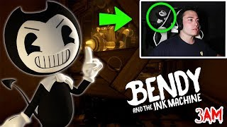 DO NOT PLAY BENDY AND THE INK MACHINE AT 3 AM!! (CAME TO ME IN REAL LIFE)