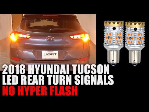 2018 Hyundai Tucson - NO Hyper Flash LED Turn Signal Blinkers Installation