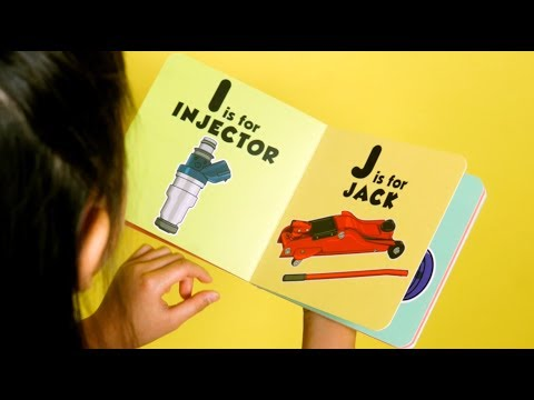 ABC Book for Future Racers