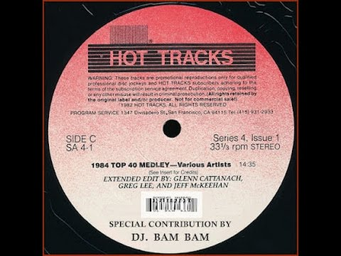 Hot Tracks 1984 Top Tune Medley
