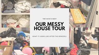 OUR MESSY HOUSE TOUR | Getting Started FlyLady |  Extreme Clean With Me | Cleaning Motivation