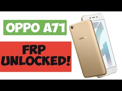 Oppo A71 2018 Qualcomm Cph1801 Unbrick Reset Frp Remove Partten