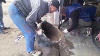 Экспресс ремонт бетонных полов, весь процесс за 6 часов.