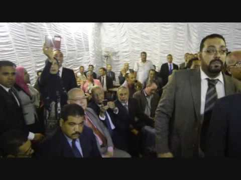 بالصور عاشور يشارك حفل افتتاح مقر نقابة محامين حلوان