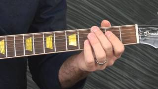 Blues Guitar Lesson - The Stormy Monday Changes