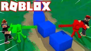 ROBLOX MECHA CUBES / BUILD YOUR DEFENSE OR GET REKT BY MILLIONS OF CUBES!!!