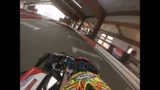 preview picture of video 'GoPro Hero3 @ GoKart Arena Neufinsing'