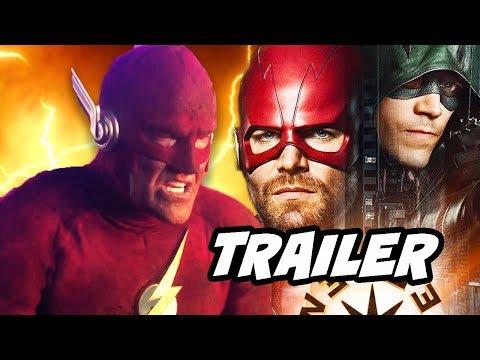 The Flash Elseworlds Trailer 2 - 90s Flash Scene Explained