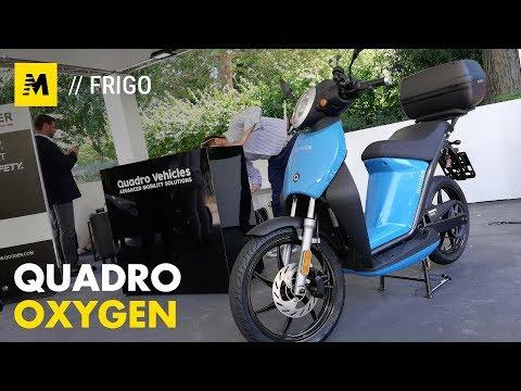 TEST - Quadro Oxygen. Lo scooter elettrico per la città