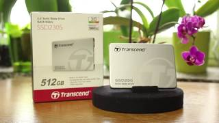 Dysk Transcend SSD230S - 3D NAND TLC - Dłuższa praca laptopa na baterii!