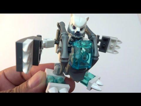 Vidéo LEGO Chima 30256 : Mecha Ours des glaces (Polybag)