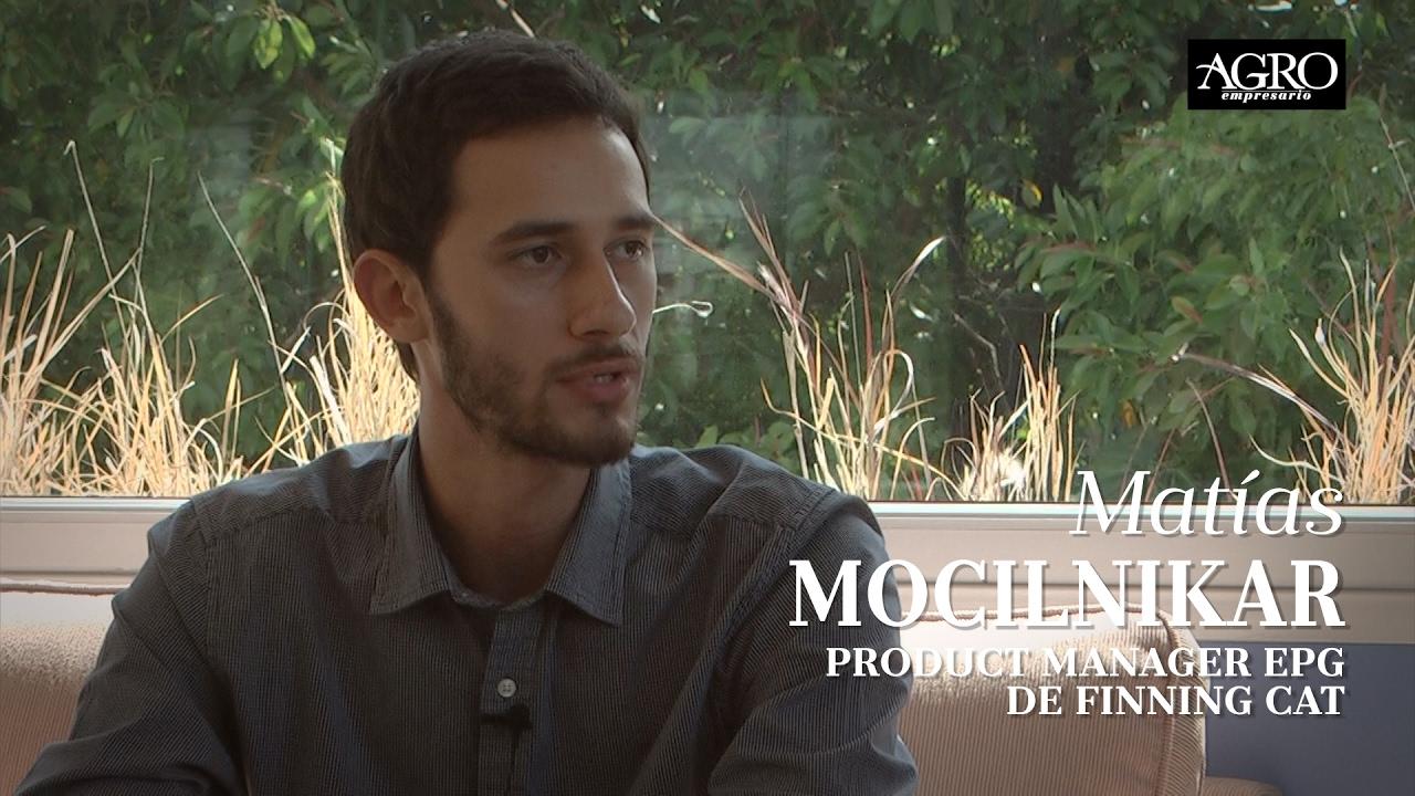 Matías Mocilnikar - Product Manager EPG de Finning Cat