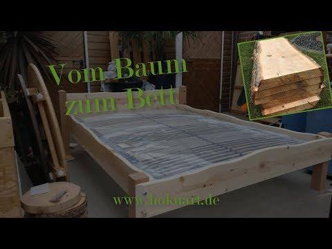 Vom Baum Zum Bett   Bett bauen