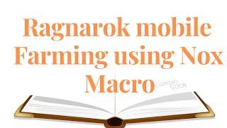nox macro ragnarok mobile - Free video search site - Findclip Net