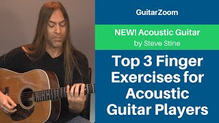 Top 3 Finger Exercises for Acoustic Guitar Players | Acoustic Guitar Workshop