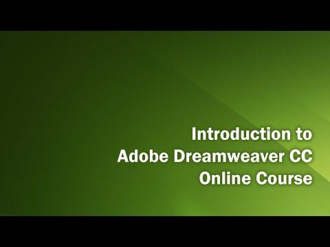 Dreamweaver CC Introduction Class Part 1 - YouTube
