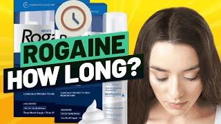 How Long Does Rogaine Take to Work? Fastest Ways